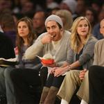 Jake Gyllenhaal and Reese Witherspoon at Laker game 30067