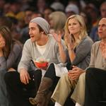 Jake Gyllenhaal and Reese Witherspoon at Laker game 30068