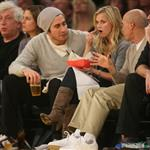 Jake Gyllenhaal and Reese Witherspoon at Laker game 30062