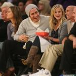 Jake Gyllenhaal and Reese Witherspoon at Laker game 30063