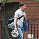 James McAvoy on the set of The Disappearance Of Eleanor Rigby 120313