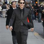 James Franco thigh thickness at Letterman to promote Your Highness 82234