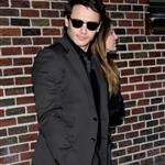 James Franco thigh thickness at Letterman to promote Your Highness 82238