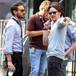James McAvoy on the set of The Disappearance of Eleanor Rigby 120850
