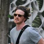 James McAvoy on the set of The Disappearance of Eleanor Rigby 120853