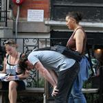 James McAvoy on the set of The Disappearance of Eleanor Rigby 120855