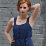 Jessica Chastain on the set of The Disappearance of Eleanor Rigby 120857