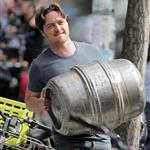 "James McAvoy seen filming ""The Disappearance of Eleanor Rigby"" in East Village, New York 123908"