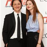 James McAvoy with Bonnie Wright at National Movie Awards 85209