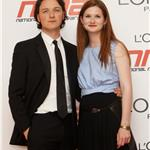 James McAvoy with Bonnie Wright at National Movie Awards 85211