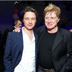 James McAvoy and Robert Redford  68686