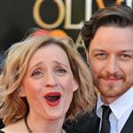 Ann-Marie Duff and James McAvoy at The Olivier Awards 2012 111335