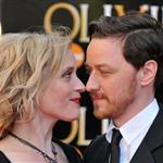 Ann-Marie Duff and James McAvoy at The Olivier Awards 2012 111336