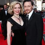 Ann-Marie Duff and James McAvoy at The Olivier Awards 2012 111337