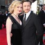 Ann-Marie Duff and James McAvoy at The Olivier Awards 2012 111338