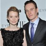 Mia Wasikowska Michael Fassbender at NY screening of Jane Eyre 81142
