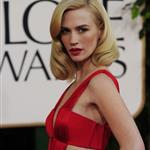 January Jones at the Golden Globes 2011 76951