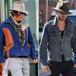 Johnny Depp/Jared Leto 110523