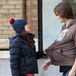 Jared Padalecki kisses pregnant wife Genevieve 100240