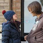 Jared Padalecki kisses pregnant wife Genevieve 100241