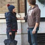 Jared Padalecki kisses pregnant wife Genevieve 100260