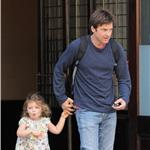 Jason Bateman with his daughter in New York 63347