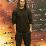 Jason Momoa at Conan the Barbarian photocall in Madrid 90122