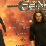 Jason Momoa at Conan the Barbarian photocall in Madrid 90127