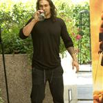 Jason Momoa at Conan the Barbarian photocall in Madrid 90128