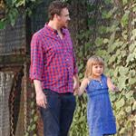 Matilda Ledger and Jason Segel hang out in NYC 120396