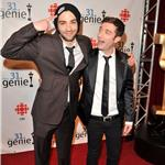 Jay Baruchel Jacob Tierney at the 31st Annual Genie Awards 81217