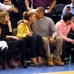 Beyonce and Jay-Z make first public appearance together at NY Knicks game, NYC 106666