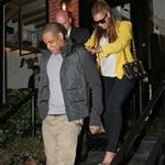 Beyonce and Jay-Z go for dinner after NY Knicks game, NYC 106673