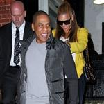 Beyonce and Jay-Z go for dinner after NY Knicks game, NYC 106675