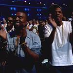 Kanye West and Jay-Z at the 2011 Video Music Awards  100437