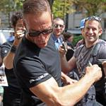 Jean-Claude Van Damme promotes The Expendables 2 in Paris 123064