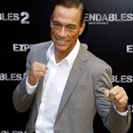 Jean-Claude Van Damme promotes The Expendables 2 in Paris 123074