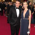 Jean Dujardin and his wife at the 84th Annual Academy Awards  107535