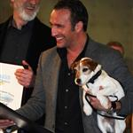 Jean Dujardin at a ceremony honoring the cast and crew of The Artist with the Made In Hollywood honor 104726