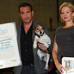 Jean Dujardin at a ceremony honoring the cast and crew of The Artist with the Made In Hollywood honor 104727