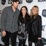 Jennifer Aniston hangs out with Demi Moore and Ashton Kutcher after the 24 Hour Play in New York 50237