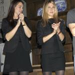 Jennifer Aniston hangs out with Demi Moore and Ashton Kutcher after the 24 Hour Play in New York 50238