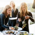 Jennifer Aniston dinner party in O Magazine  45140