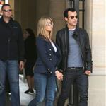 Jennifer Aniston and Justin Theroux out in Paris 117125