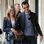 Jennifer Aniston and Justin Theroux out in Paris 117135