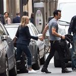 Jennifer Aniston and Justin Theroux out in Paris 117138