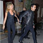 Justin Theroux escorts Jennifer Aniston to Five screening in New York 95083