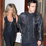 Justin Theroux escorts Jennifer Aniston to Five screening in New York 95085