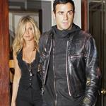 Justin Theroux escorts Jennifer Aniston to Five screening in New York 95091