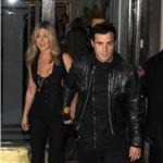 Justin Theroux escorts Jennifer Aniston to Five screening in New York 95093